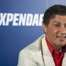 S. Stallone nustebino filmavimo komandą savo išprusimu
