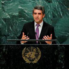 Kadenciją baigiantis Bulgarijos prezidentas perspėja savo įpėdinį dėl Rusijos