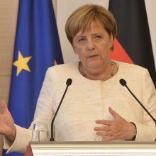 A. Merkel: 2015 metais priimta migracijos politika buvo teisingas sprendimas