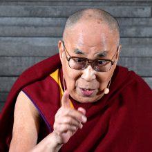 Dalai Lama: Europa priklauso europiečiams, pabėgėliai turi grįžti į gimtąsias šalis