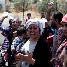 Graikija nerimauja dėl augančio migrantų skaičiaus