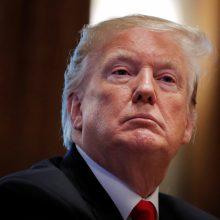 D. Trumpo atsakas Pekinui – paskelbė apie naujus muitus kiniškoms prekėms