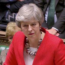 """Į Briuselį atvykusi Th. May ragina savo įpėdinį siekti """"Brexit"""" sutarties"""