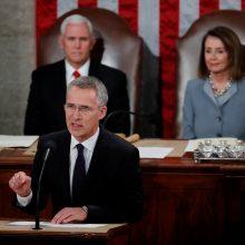 NATO nesiekia naujo šaltojo karo su Rusija, sako Aljanso vadovas