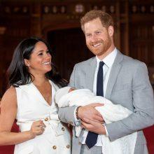 Britų princo Harry sutuoktinė Meghan gimdė Londono ligoninėje