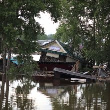 Potvynių nuniokotoje Irkutsko srityje V. Putinas paskelbė nepaprastąją padėtį