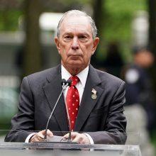 M. Bloombergas žengė dar vieną žingsnį 2020-ųjų JAV prezidento rinkimų link