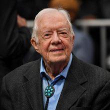 Buvusiam JAV prezidentui J. Carteriui po operacijos nėra jokių komplikacijų