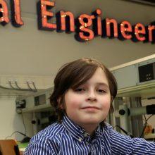 9-metis vunderkindas sustabdė studijas Nyderlandų universitete