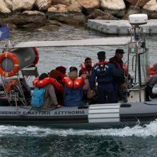 Prie Kipro krantų sulaikyta daugiau kaip 100 migrantų iš Sirijos