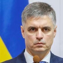 Ukrainos vyriausybė nori su Vokietija ir Prancūzija aptarti padėtį Donbase