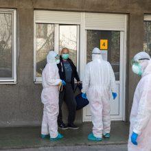 Šveicarijoje koronaviruso atvejų skaičius perkopė 10 000