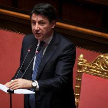 Italija karantino priemones pratęs bent iki balandžio 12-osios