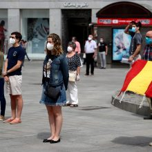 Ispanija dešimt dienų gedės savo COVID-19 aukų