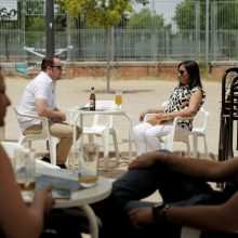Ispanijoje pirmąkart nuo kovo per parą neužregistruota naujų mirčių nuo COVID-19