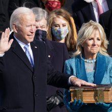J. Bidenas prisaikdintas 46-uoju JAV prezidentu (tiesiogiai)