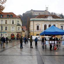Gerėjant epidemiologinei situacijai, Slovėnija švelnina karantiną