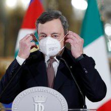 M. Draghi oficialiai priėmė Italijos ministro pirmininko postą