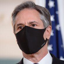 "A. Blinkenas: JAV ""netrukdo diplomatijai"" JT"