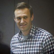"""A. Navalnas: kova už Rusiją yra """"ilgas maratonas"""""""