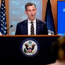 JAV: Rusija neleido žmonėms naudotis teisėmis rinkimuose