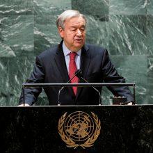 JT vadovas ragina pasaulį apsaugoti spaudos laisvę