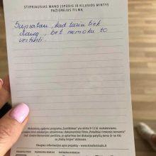 Kauno rajono moksleivius apie patyčias prakalbina kinas
