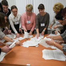 Aktyvistai: rinkimai Baltarusijoje buvo nedemokratiški