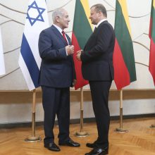 S. Skvernelio diplomatija Izraelyje – lietuviškai