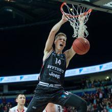 """Ryto"" krepšininkai pergale startavo Europos taurės turnyre"