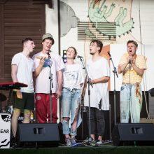 """Tarptautinis jaunų grupių konkursas """"Novus"""": nuo liūdnų šunų iki scenos chuliganų"""
