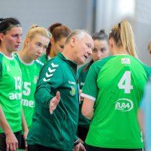 """""""Acme-Žalgiris"""" įveikė """"Rudar"""" merginas ir žengė į kitą EHF Iššūkio taurės etapą"""