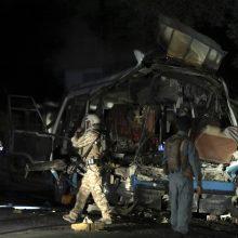 Kabule nugriaudėjo du sprogimai, žuvo mažiausiai aštuoni žmonės
