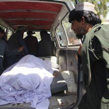 Afganistano pareigūnai: per antskrydį prieš talibus žuvo 40 civilių