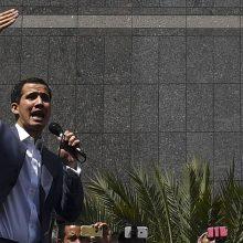 N. Maduro režimas atėmė iš J. Guaido teisę 15 metų dirbti valstybės tarnyboje