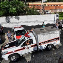 Brazilijos mokykloje nušauti aštuoni žmonės; abu užpuolikai nusižudė