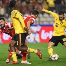 Belgija 3:1 nugalėjo Rusiją
