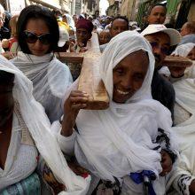 Jeruzalėje stačiatikiai mini Didįjį penktadienį