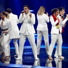 """Paaiškėjo pirmojo """"Eurovizijos"""" pusfinalio nugalėtojai"""