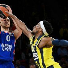 """""""Anadolu Efes"""" krepšininkai pirmą kartą žengė į Eurolygos finalą"""