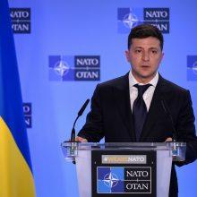 V. Zelenskis paragino V. Putiną paleisti Rusijos areštuotus ukrainiečių jūreivius