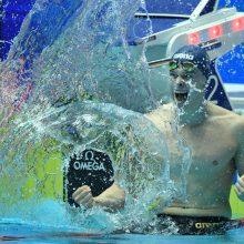Triumfas: plaukikas D. Rapšys pagerino 10 metų gyvavusį Europos čempionatų rekordą!