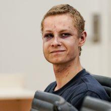 Įtariamajam dėl išpuolio Norvegijos mečetėje skirtas kardomasis kalinimas
