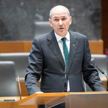 Slovėnija kitą savaitę gali panaikinti kai kuriuos karantino apribojimus