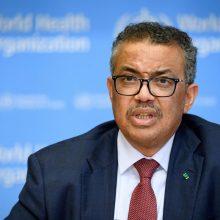 """PSO: koronaviruso pandemijos grėsmė yra """"labai reali"""""""