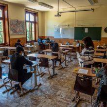 Vengrijoje nepaisant karantino prasideda mokyklų egzaminai