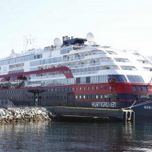 Norvegijos įmonė stabdo keliones dėl viename laivų fiksuojamo viruso protrūkio