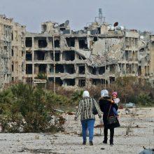 OPCW pasmerkė Siriją dėl cheminio ginklo panaudojimo 2017 metais
