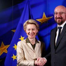 ES vadovai reiškia susirūpinimą dėl žmogaus teisių padėties Turkijoje