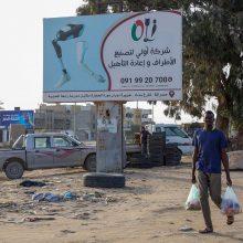 JAV ragina išvesti Rusijos ir Turkijos pajėgas iš Libijos